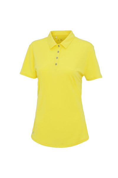 adidas® Women's teamwear polo AD029 Light Yellow XS