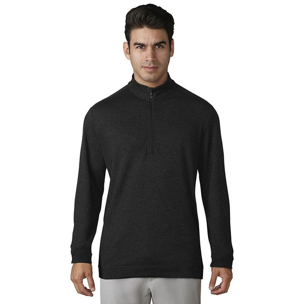 adidas® Wool 1/4 zip AD038 Black XL