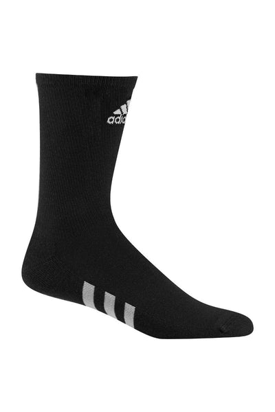 adidas® 3-pack golf crew socks AD113 Black 6.51