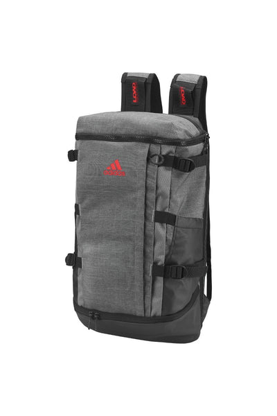 adidas® Rucksack backpack AD182 Dark Grey Heather/ Scarlet One Size