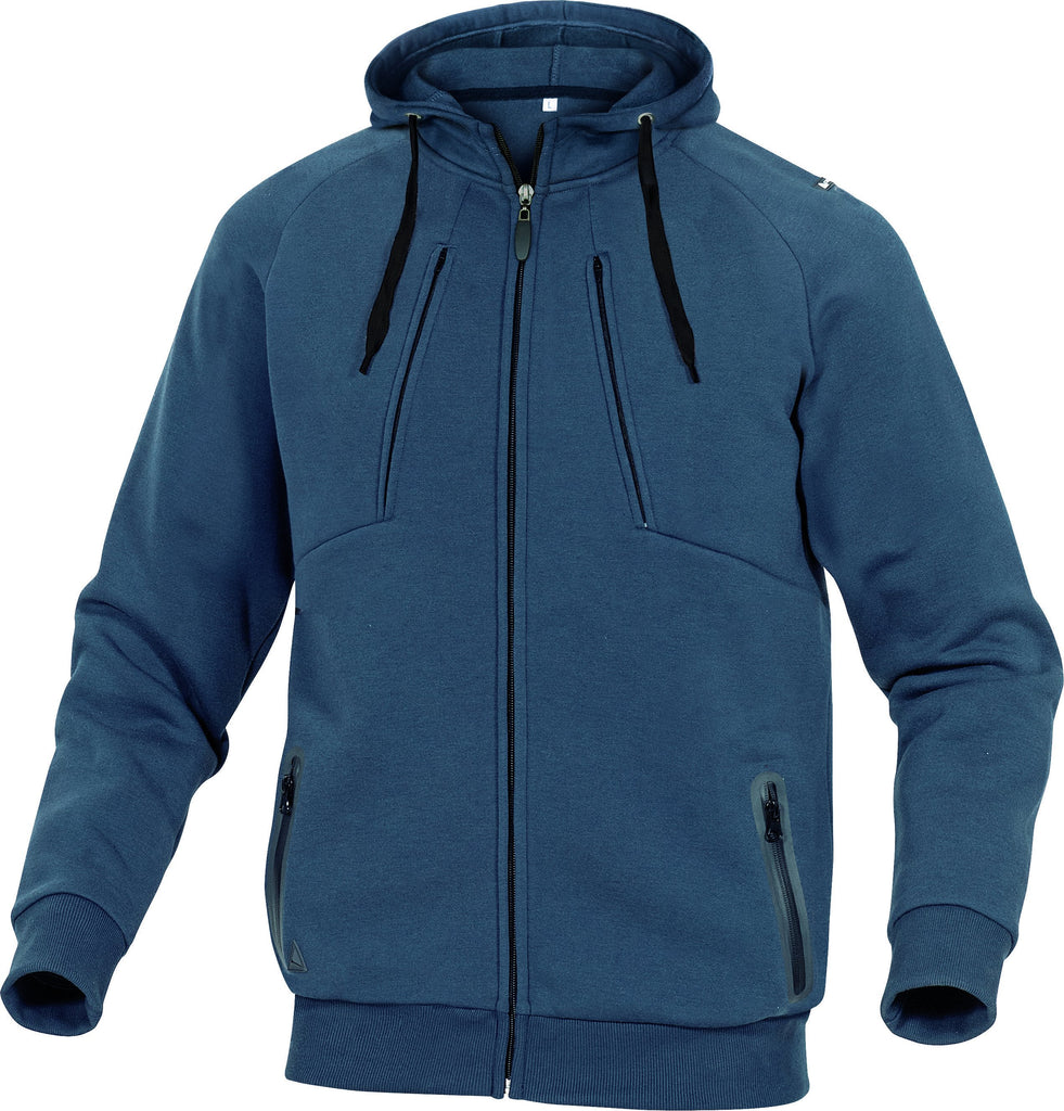 Delta Plus Polyecter Fleece/Cotton Sweat Jacket ANZIO