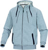 Delta Plus Polyecter Fleece/Cotton Sweat Jacket ANZIO Grey
