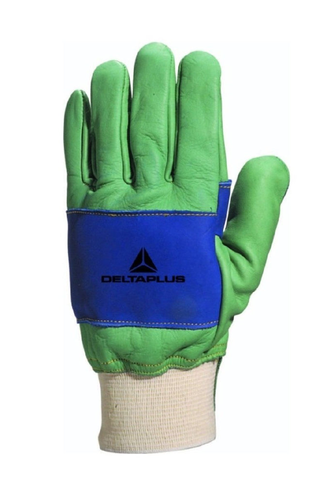 Delta Plus Water-Repellent Cowhide Grain Glove BUCH520V