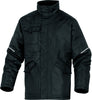 Delta Plus PU-Coated Oxford Polyester Mach Parka CARSON Black/Grey