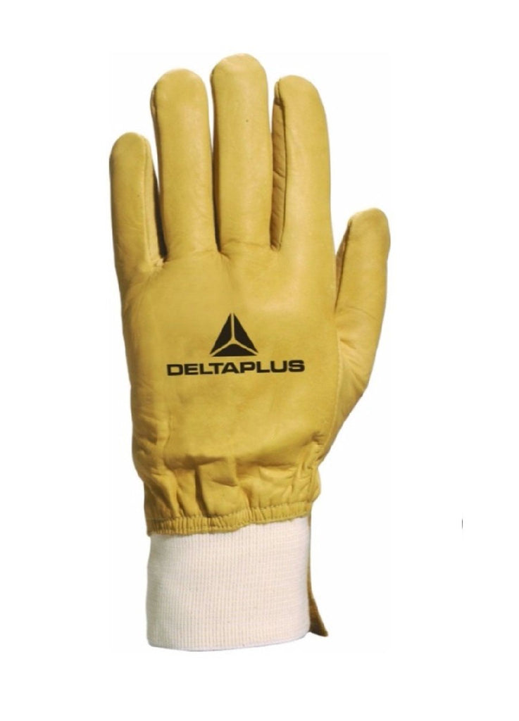 Delta Plus Water-Repellent Cowhide Full Grain Leather Glove CBHV2