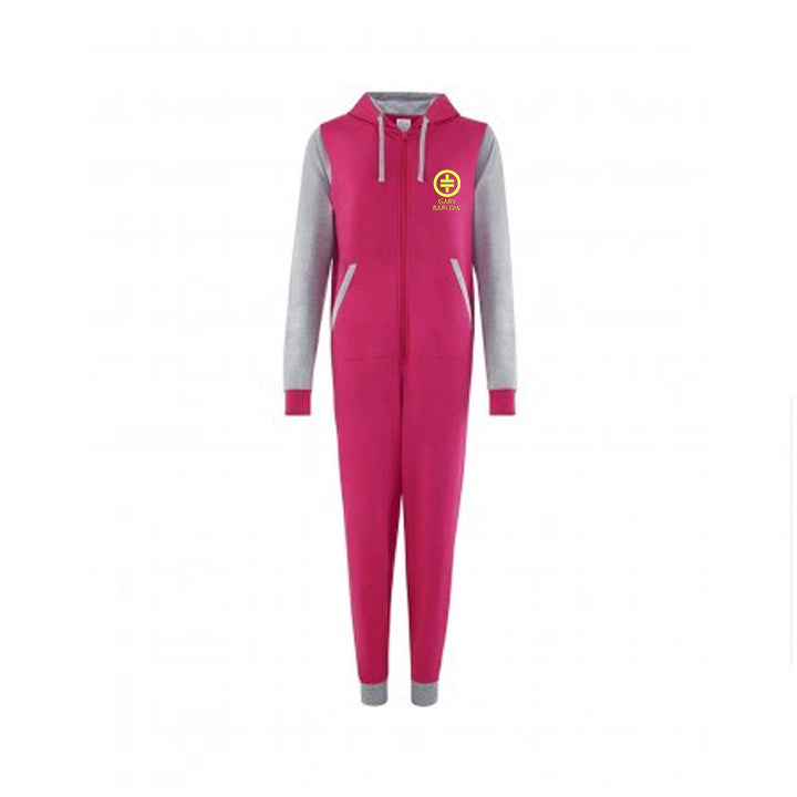 Take That Gary Barlow Contrast Onesie Pink