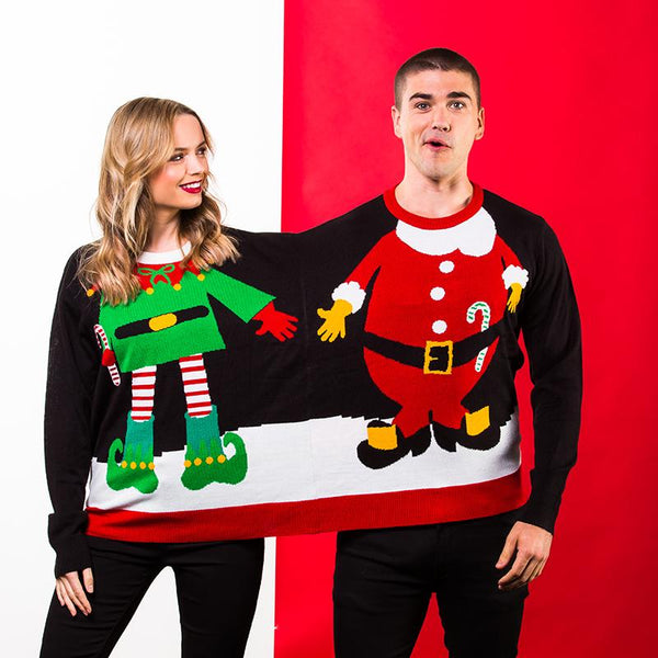 2-in-1 Christmas Jumper