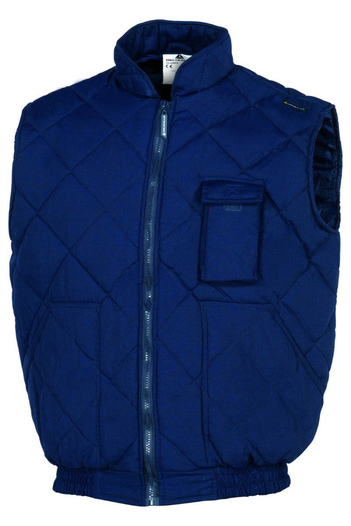 Delta Plus Polyester/Cotton Quilted Vest CLUSES