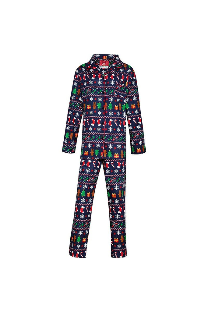 Christmas Shop Women's Christmas pyjamas CS057 Multi 810