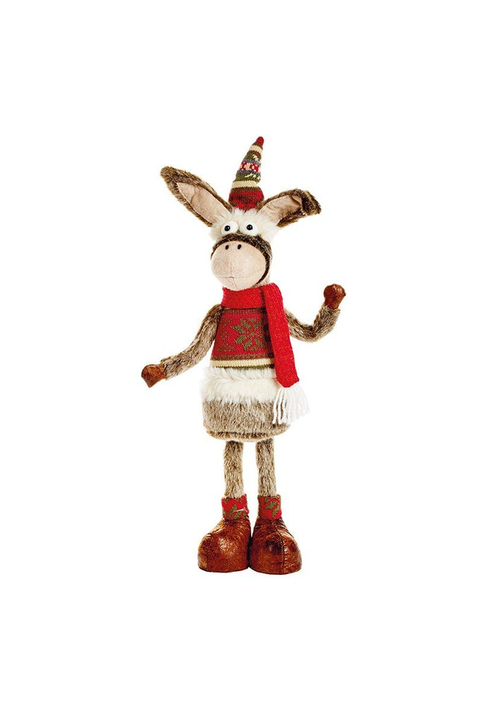 Christmas Shop 45cm Standing donkey CS396 Donkey One Size