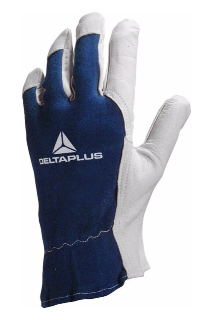 Delta Plus Goatskin Leather Glove/Jersey Back CT402