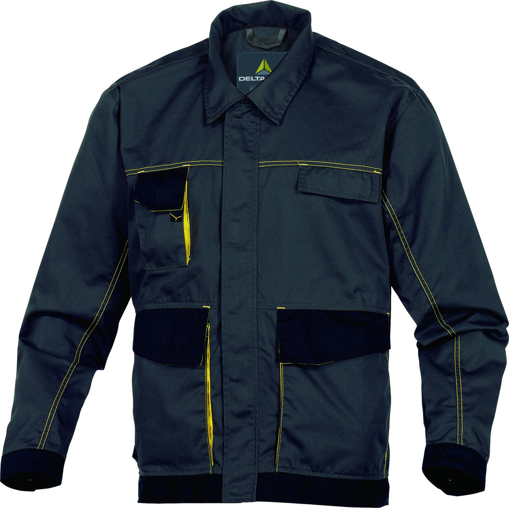 Delta Plus D-Mach Working Jacket In Polyester Cotton DMACHVES