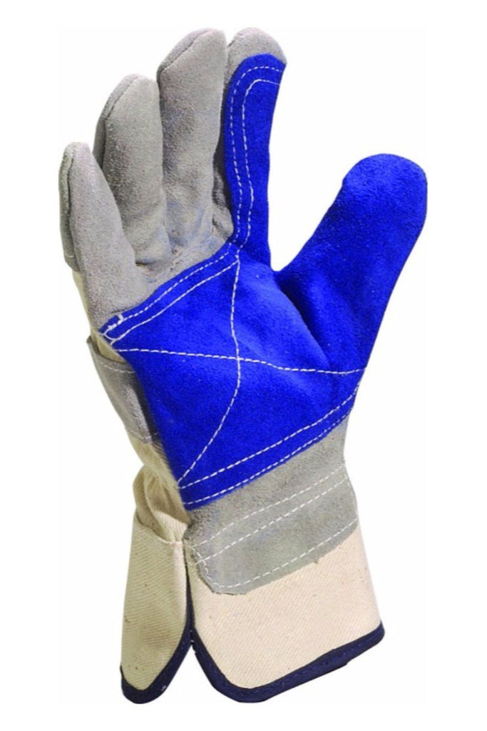 Delta Plus Top Quality Cowhide Grey Docker Glove DS202RP