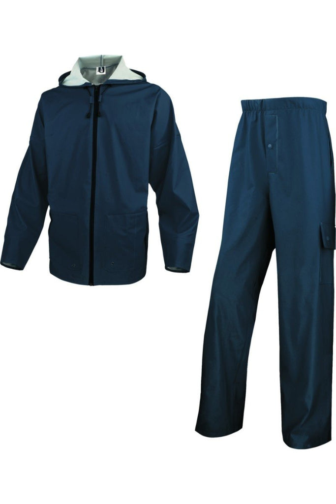 Delta Plus Mixed Polyurerthane Coated Polyester Support Rain Suit 850