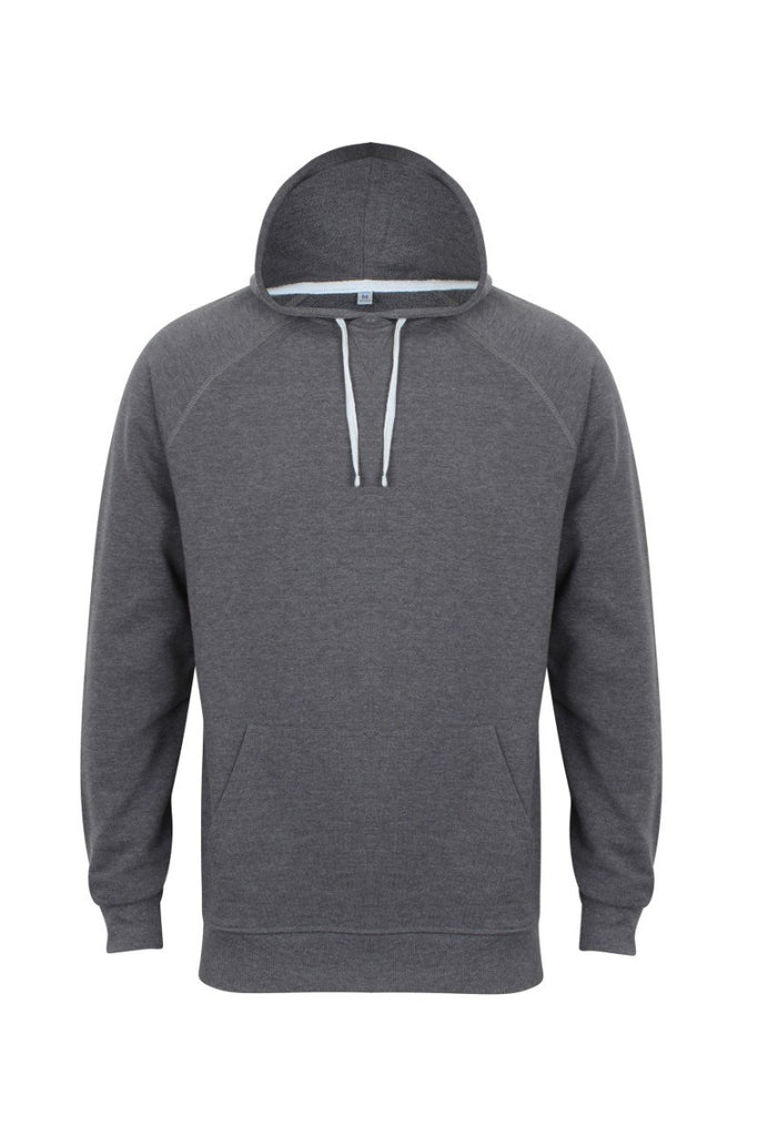 Front Row French terry hoodie FR832 Charcoal Marl