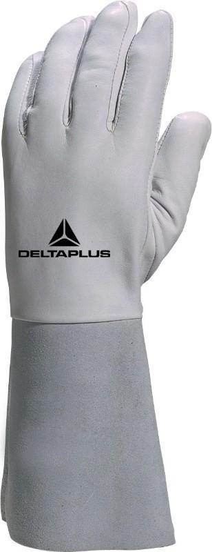 Delta Plus Kevlar® Thread Lambskin Leather Grain Glove 15 cm Cuff GFA115K