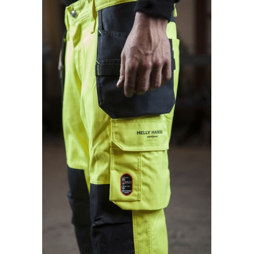 Helly Hansen Aberdeen Hi Vis Construction Class 2 Pant 76476