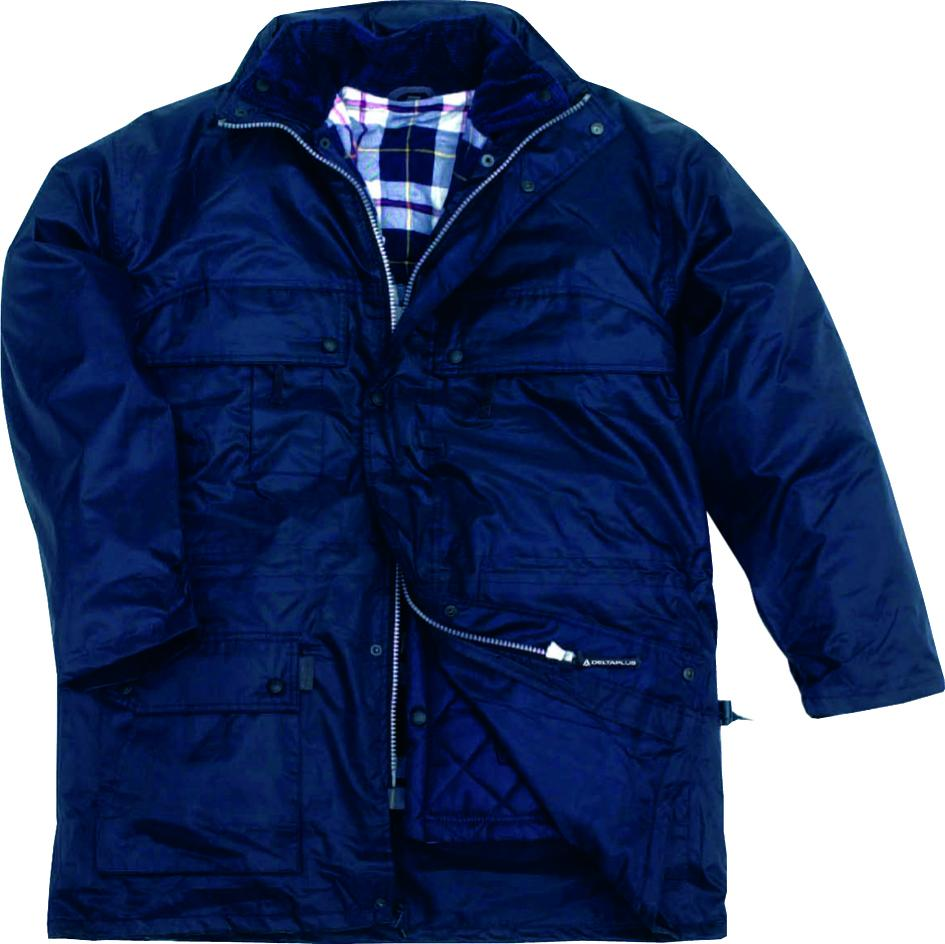 Delta Plus Parka In Polyester With PVC Coating ISOLA