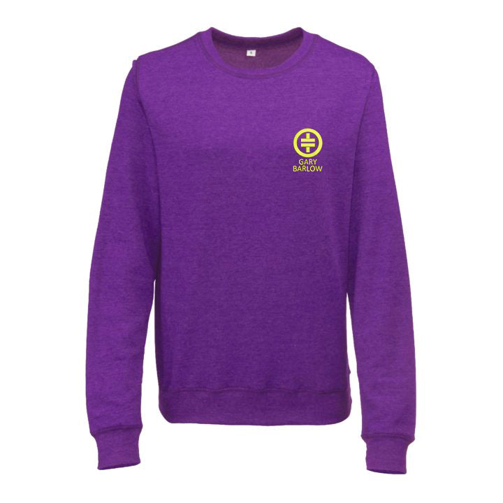 Take That Girlie Heather Sweatshirt - Available in 5 Colours Purple Heather