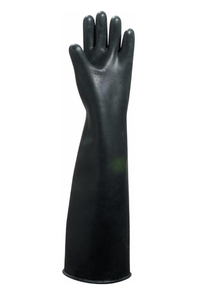 Delta Plus Black Latex Glove Length 60 cm LA600