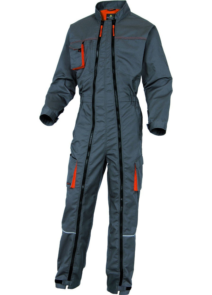 Delta Plus Mach2 Working Overall In Polyester / Cotton Double Zip