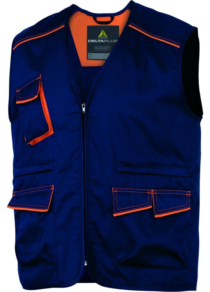 Delta Plus Polyester Cotton Panostyle® Working Vest M6GIL