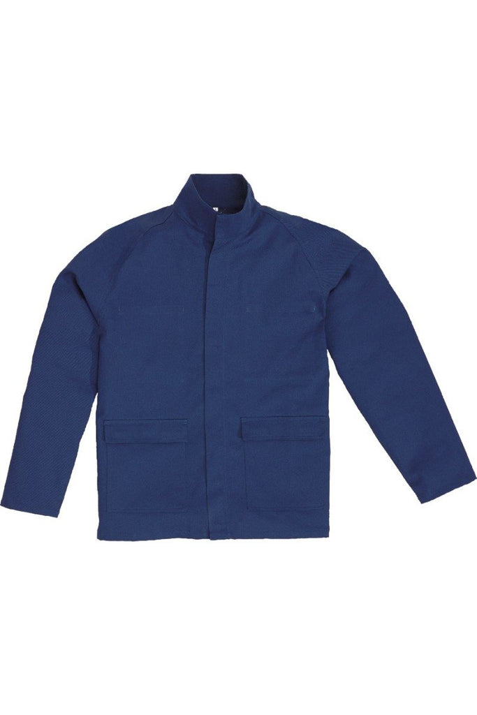Delta Plus Flame Retardant Cotton Maiao Working Jacket MAIVE Navy Blue