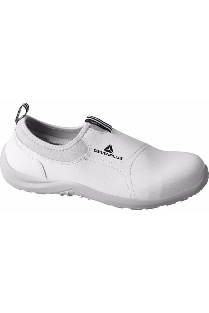 Delta Plus Microfibre / PU Shoes MIAMI S2 SRC White