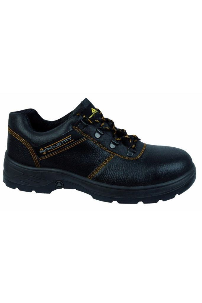 Delta Plus Pigmented Split Leather Shoes NAVARA S1P SRC