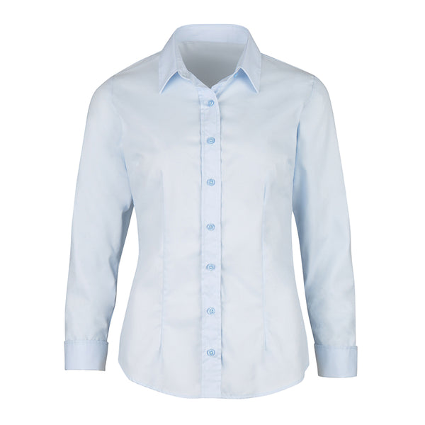 Alexandra women's twill weave shirt NF181 Pale blue 26