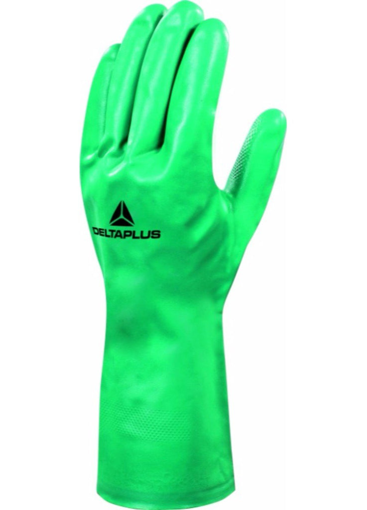 Delta Plus Cotton Flock Nitrile Glove Length 33 cm NITREX VE801
