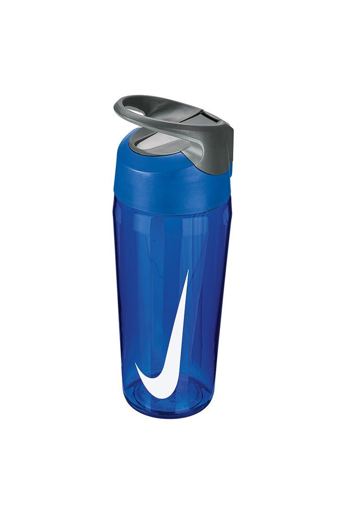 Nike Hypercharge straw bottle 16oz NK005 Game Royal/ Cool Grey/ White One Size
