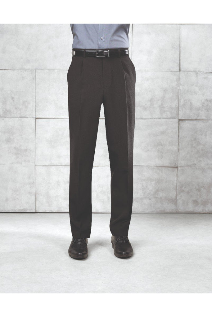 Premier Polyester Trousers ( Single Pleat) PR520 Black