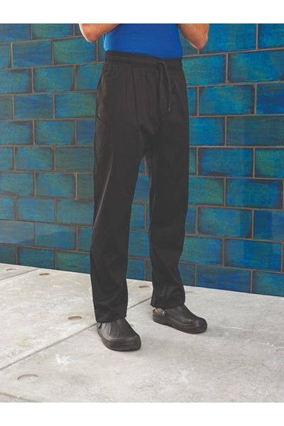 Premier Chef's Select Slim Leg Trouser PR554 Black lifestyle image