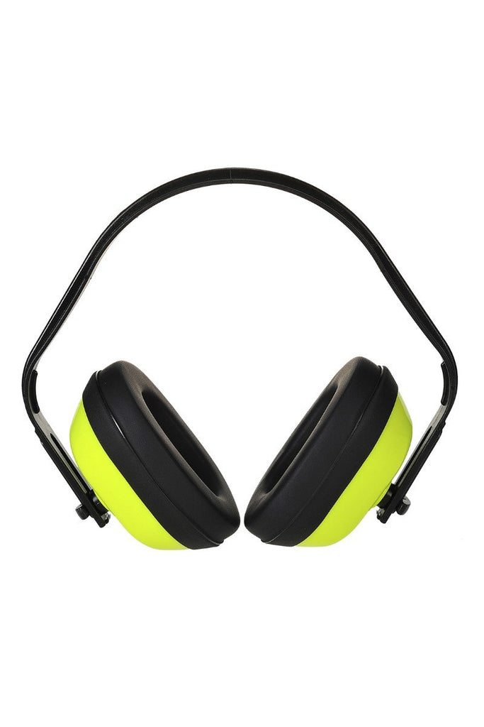 Portwest Classic HV Ear Protector PS40 Yellow One Size