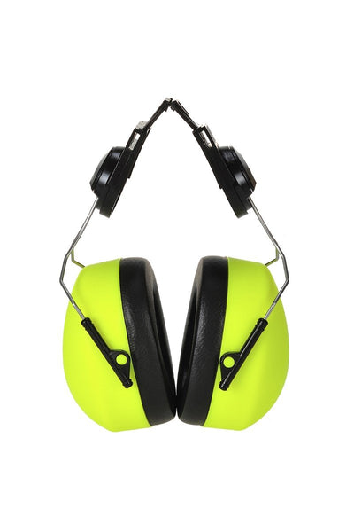 Portwest Clip-on HV Ear Protector PS42 Yellow One Size