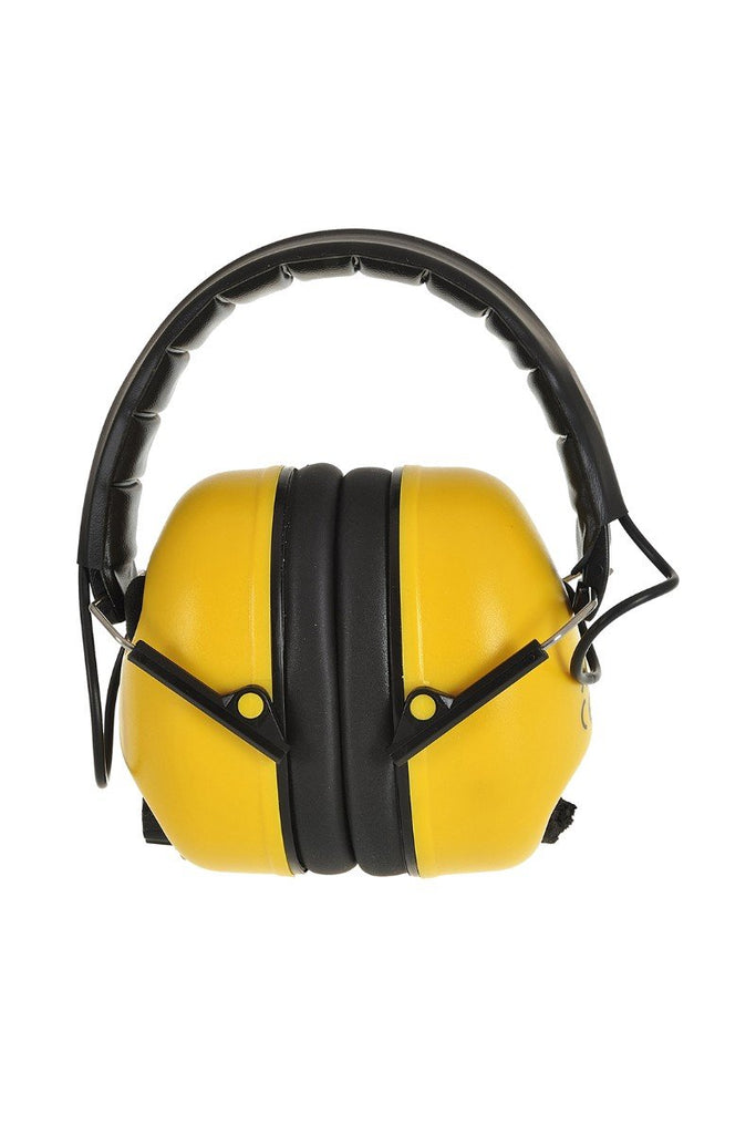Portwest Electronic Ear Muff PW45 Yellow One Size