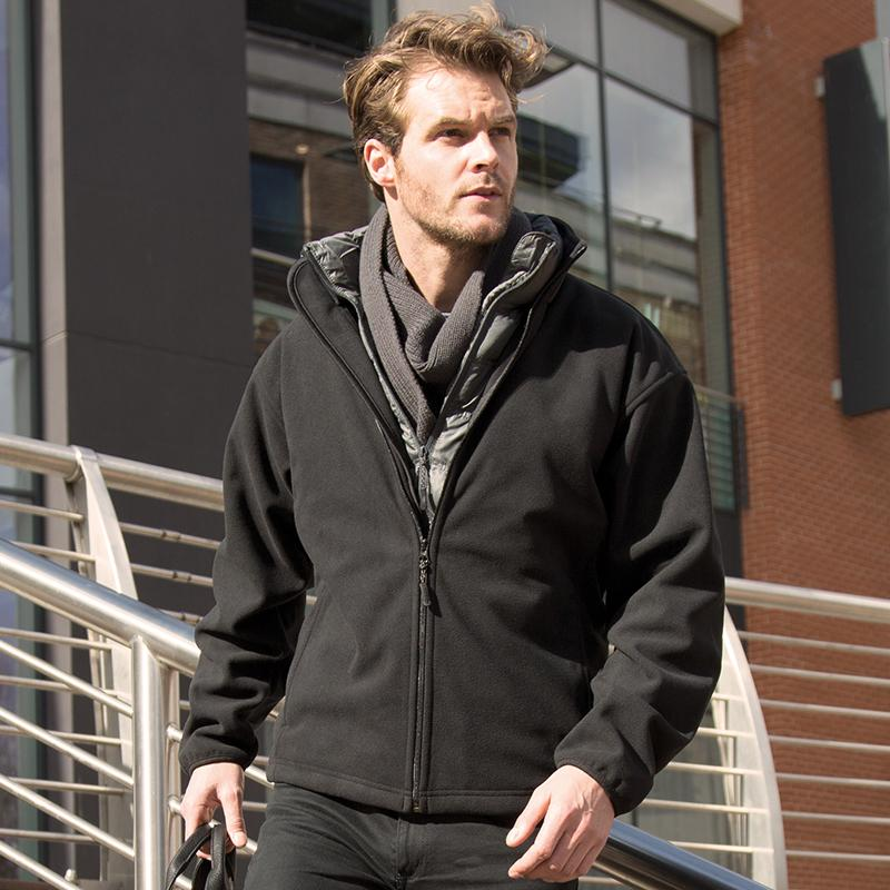 Result Urban Outdoor Extreme climate stopper fleece R109A Black 3XL