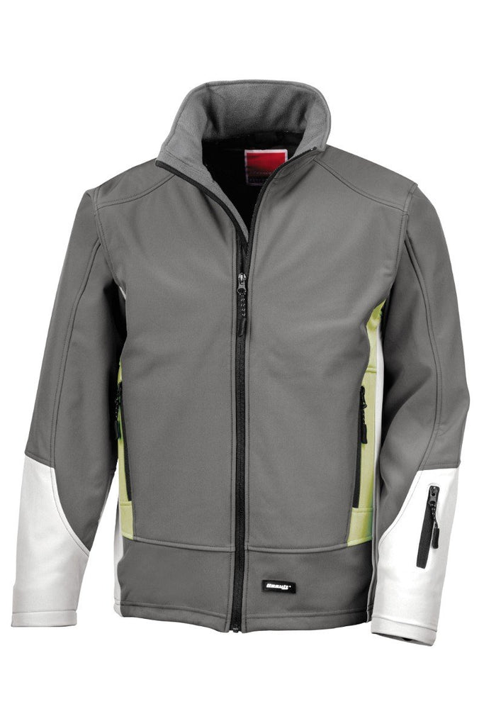 Result Blade softshell jacket R119A Charcoal/ Pampas/ Pale Grey XS