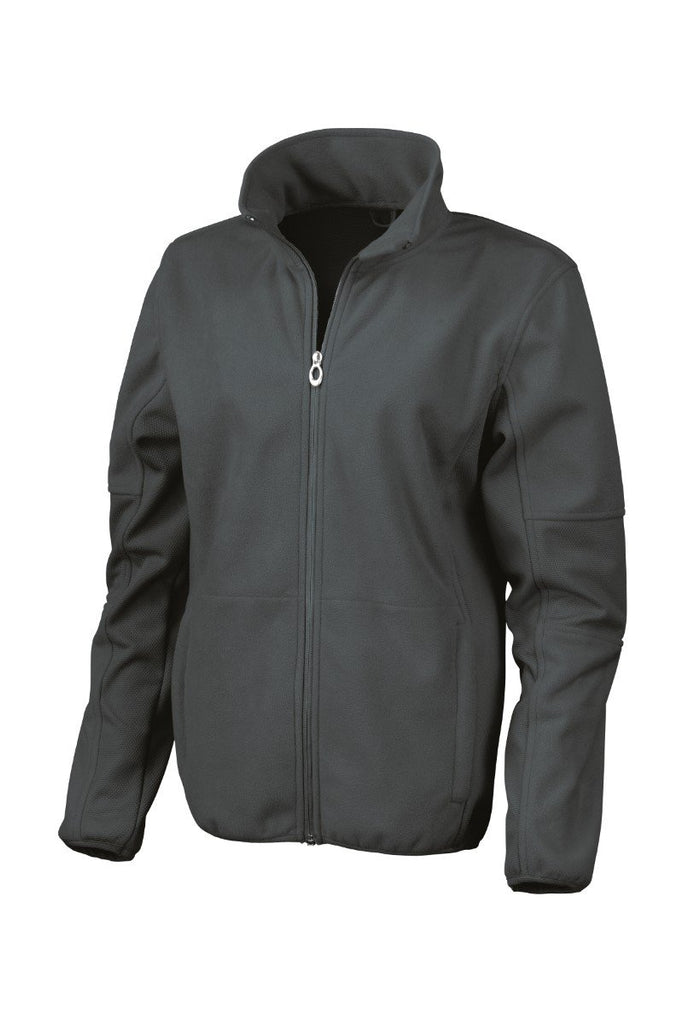 Result Women's Osaka combed pile softshell jacket R131F Black XS