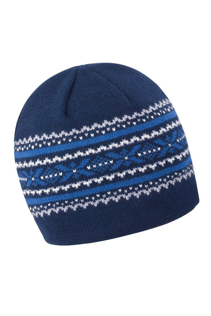 Result Winter Essentials Aspen knitted hat R153X Navy / Grey One Size