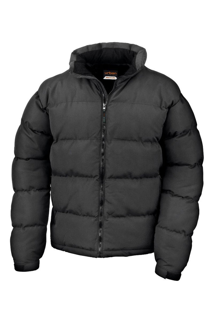 Result Urban Outdoor Holkham down feel jacket R181M Black XL