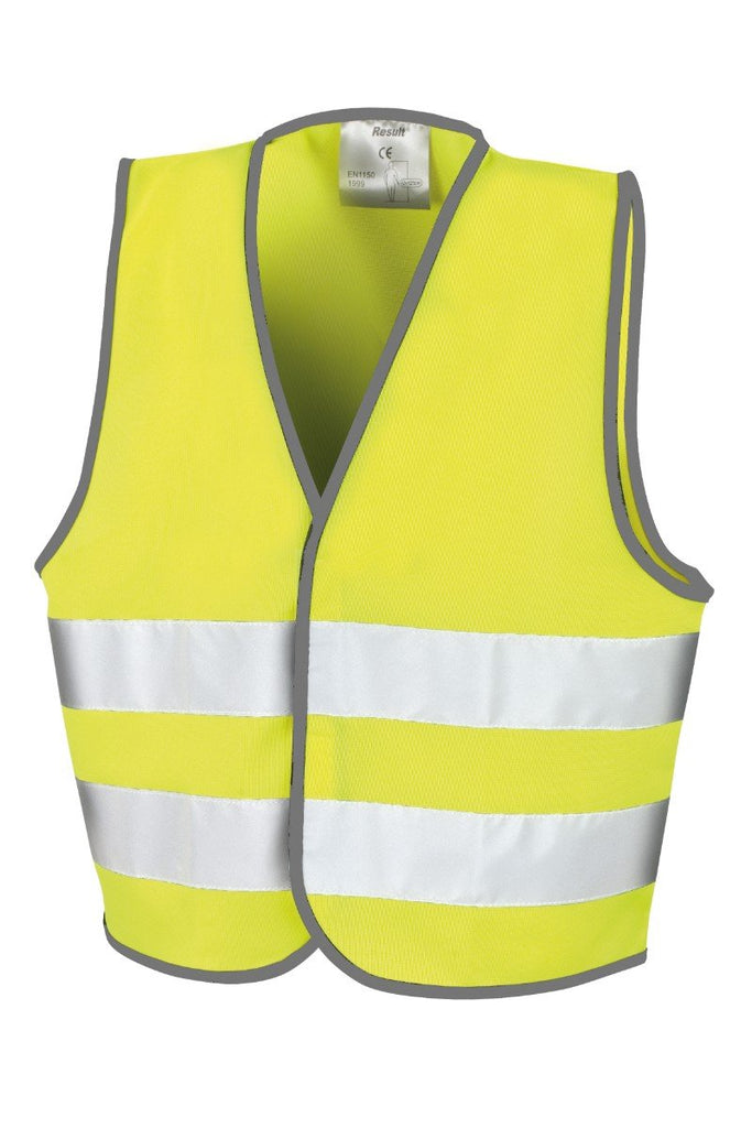 Result Core Core adult motorist safety vest R200X Fluorescent Yellow SM