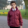 Result Core Core junior microfleece lined jacket R203J Burgundy 2XL