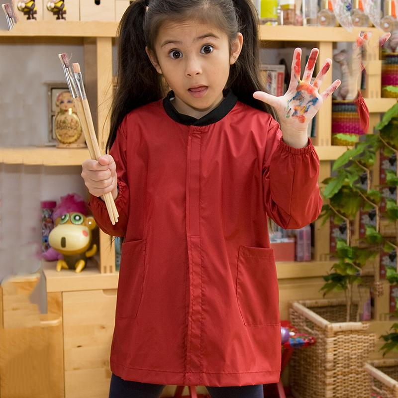 Result Core Core junior art smock R228J Red 2XS
