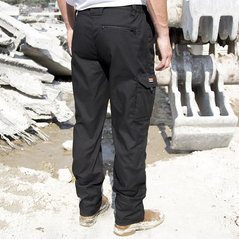 Result Work-Guard Work-Guard Sabre stretch trousers R303X Black 2XLL