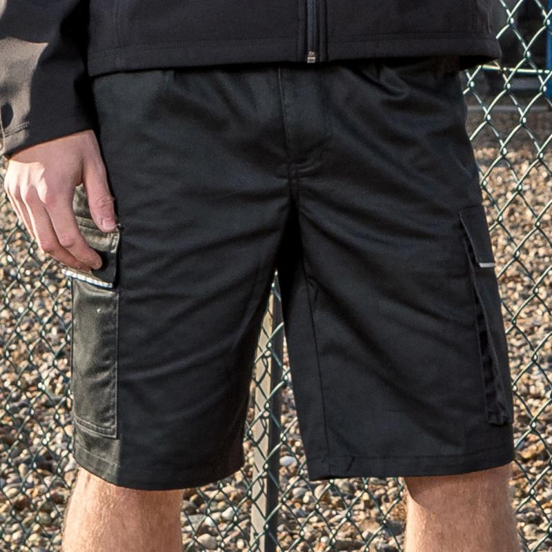Result Work-Guard Work-Guard action shorts R309X Black 2XL