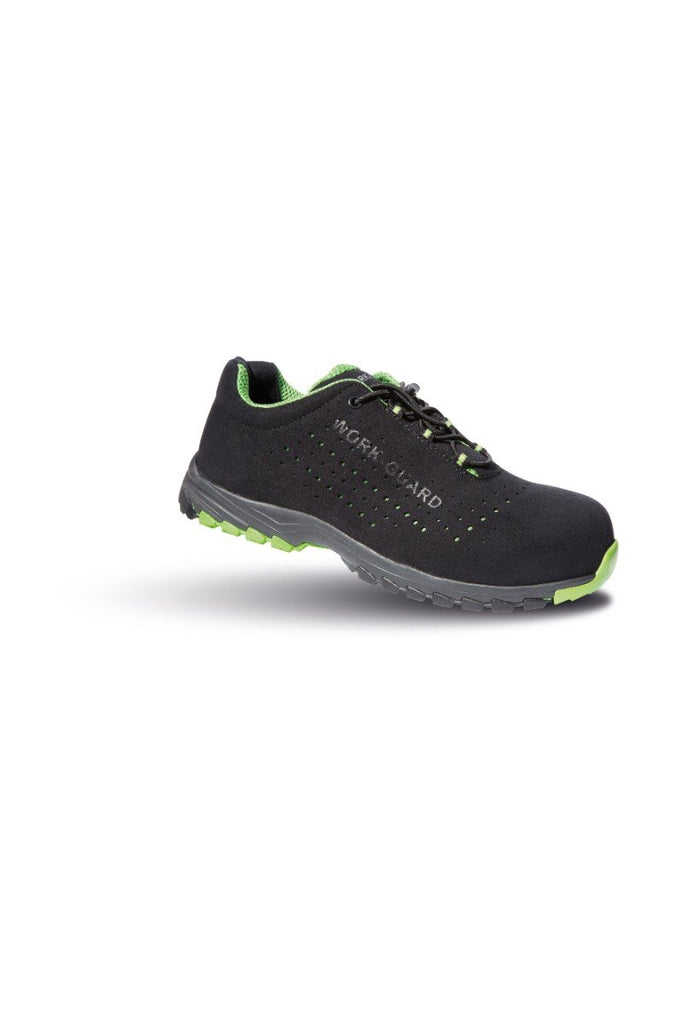 Result Work-Guard Shield lightweight safety trainer R347X Black/ Lime 9
