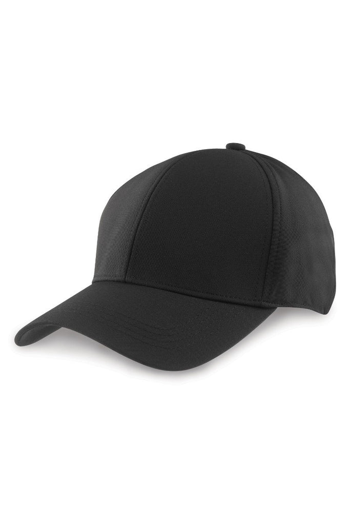 Result Headwear Tech performance softshell cap RC73X Black One Size
