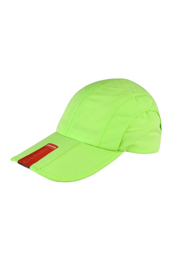 Result Headwear Fold-up baseball cap RC78X Lime One Size